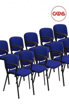 Kit 10 sedute attesa imbottite con braccioli