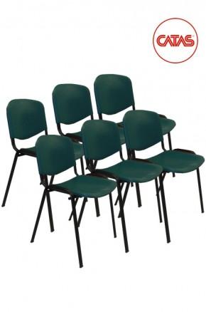Kit 6 sedute attesa in polipropilene