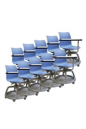 Kit 10 sedie girevoli College